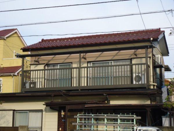 横浜市I様  バルコニー