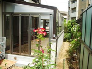 川崎市宮前区S様邸 ガーデンルーム