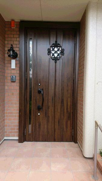 A様邸  玄関ドアリフォーム 1dayリフォーム