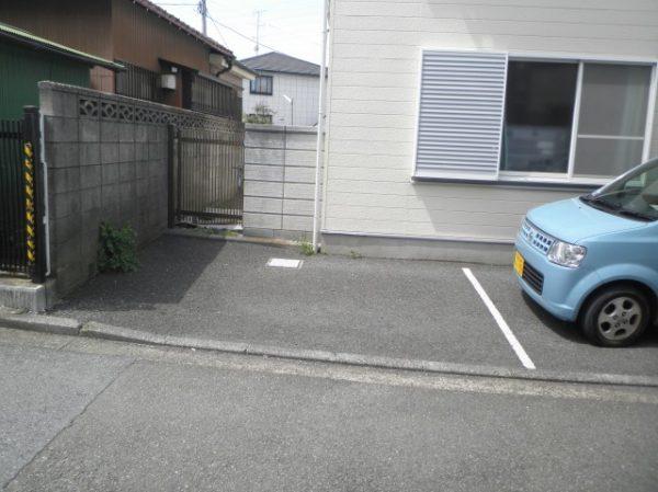 横浜市某アパート スペースガード・サイクルポート