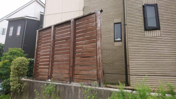 川崎市宮前区S様邸   フェンス