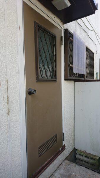 I様邸 キッチン ドア