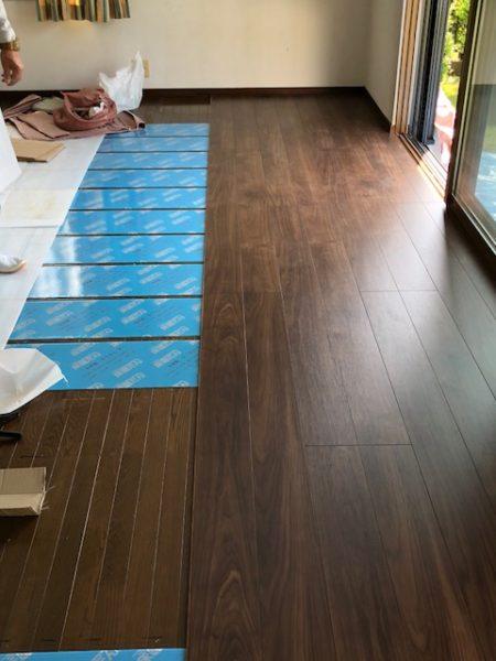 神奈川県横浜市都筑区 U様邸 床暖房