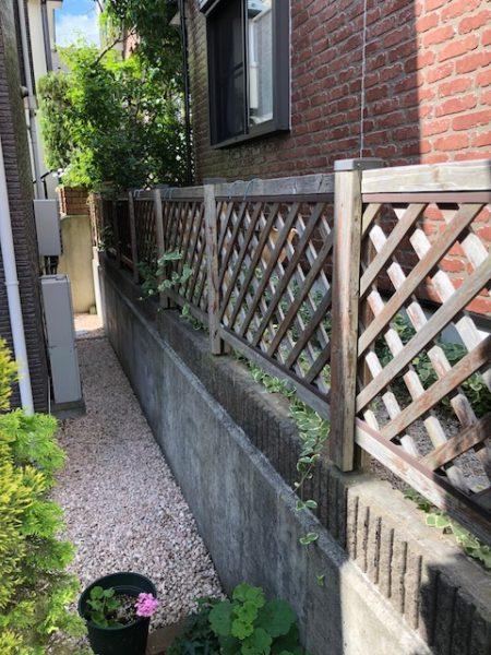 神奈川県横浜市青葉区 O様邸 ラチスフェンス設置工事
