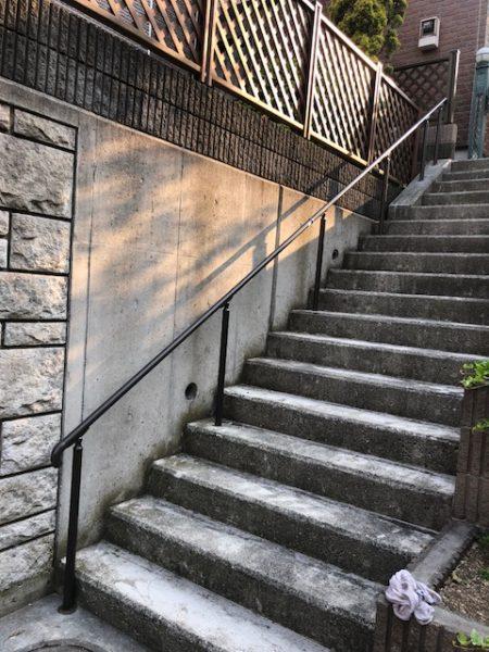 神奈川県横浜市青葉区 O様邸 階段手摺設置