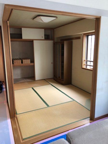 神奈川県横浜市青葉区 Y様邸 和室を洋室に変更