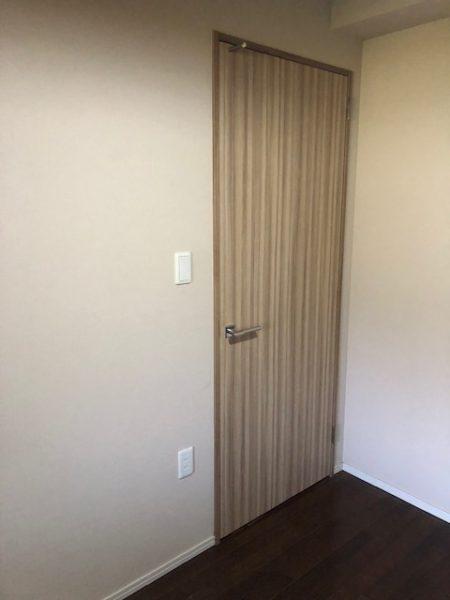 神奈川県横浜市都筑区M様邸 片開きドアを片引き戸へ室内ドアリフォーム
