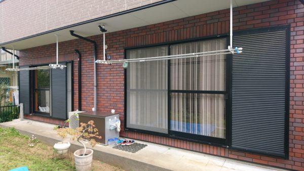 神奈川県横浜市都筑区 K様邸 窓シャッターリフォーム