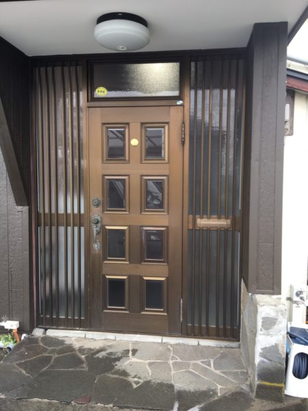 神奈川県横浜市磯子区 S様邸 玄関ドアリフォーム