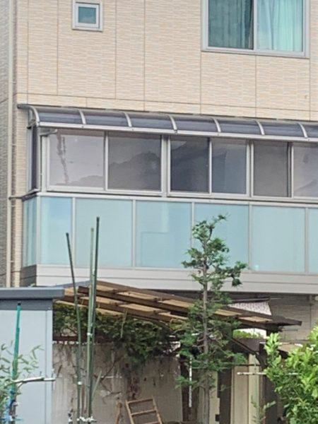 神奈川県横浜市港北区 N様邸 バルコニー工事