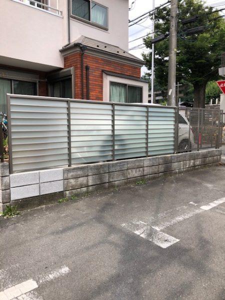 神奈川県横浜市港北区 N様邸 門扉とフェンス