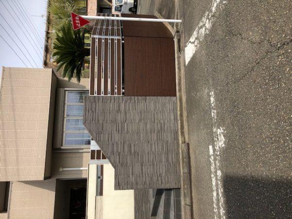 横浜市都筑区 Y様邸            塀のリフォーム