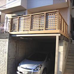 横浜市 K様邸 人工木デッキとフェンス