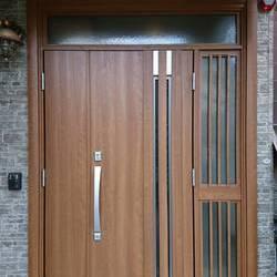 横浜市港北区 K様邸  玄関ドア1dayリフォーム