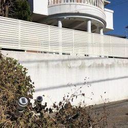 神奈川県横浜市青葉区 K様邸 目隠しフェンス取付工事