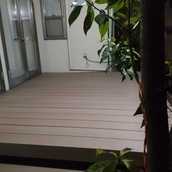 神奈川県横浜市青葉区 B様邸 デッキ工事