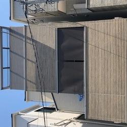 神奈川県川崎市中原区 バルコニー目隠し工事