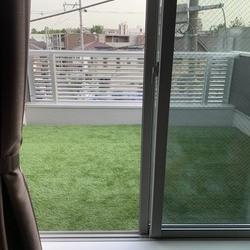 神奈川県川崎市中原区 Y様邸  バルコニーに人工芝を取付