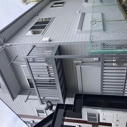 神奈川県横浜市港北区某アパート  外装改修工事