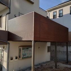 横浜市都筑区O様邸         新設バルコニー工事